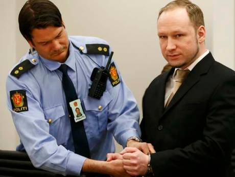 Norwegian mass killer Anders Behring Breivik