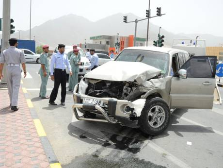 Car crashes cost nation Dh17b in three years, report reveals