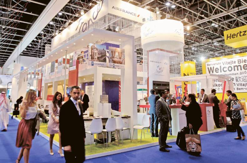 visitors-at-france-s-stand-at-the-arabian-travel-market