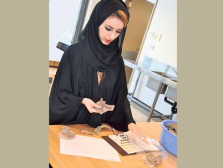 Zayed University's new archaeology courses prepare students for careers