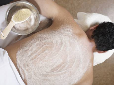 Male spa treatments tested