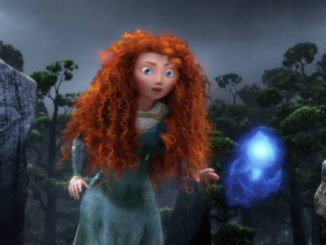 Scottish princess Merida