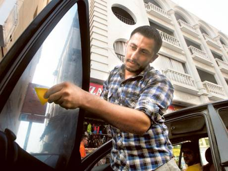 The car-tinting business is lucrative in summer as car owners opt for ways to reduce the heat
