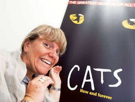 CATS during the rehearsals at DUCTAC,  Mall of the Emirates, Dubai