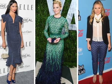 Camila Alves, Elizabeth Banks and Kristen Bell.