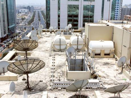 Municipality of Abu Dhabi has called for the removal of satellite dishes from windows and balconies