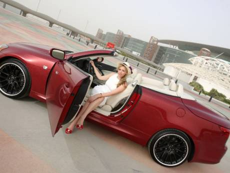 Natalya's Lexus IS 300C