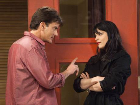 "Charlie Sheen in ""Anger Management"""