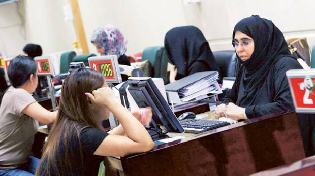 Residents on their relatives' sponsorship must leave the UAE to obtain an employment visa