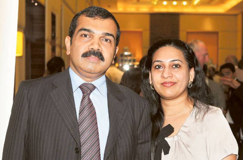 sudhir-and-sreeja-kumar