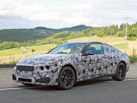 The much-anticipated BMW M4 Coupé