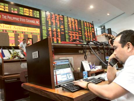 At the Philippine Stock Exchange