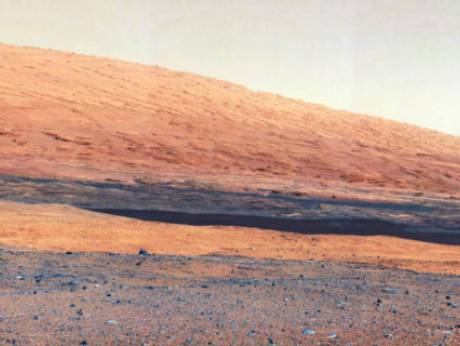 The base of Mars' Mount Sharp