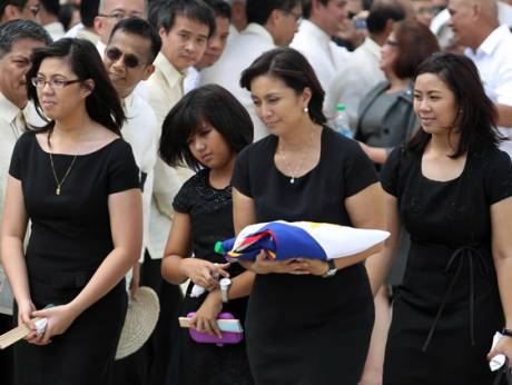 During the state funeral for Jesse Robredo