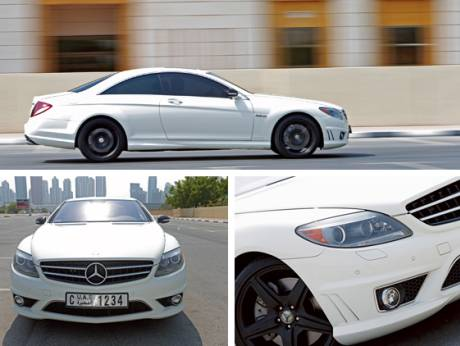 2008 Mercedes-Benz CL63 AMG