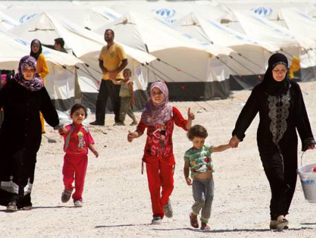 Two-thirds of Zaatari's residents are children