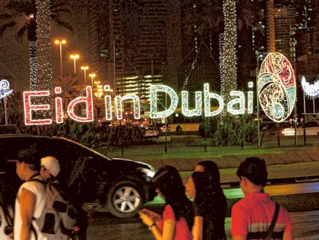 24-hour shopping in Dubai