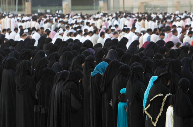 saudi-women-take-part-in-prayers-for-eid-al-adha-in-riyadh