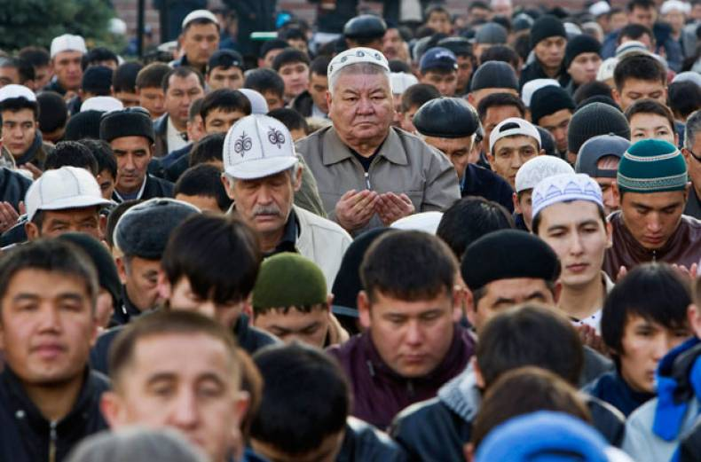 muslims-pray-during-eid-al-adha-in-front-of-central-mosque-in-almaty