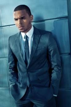 Singer Chris Brown