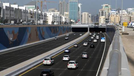 In pictures: Shaikh Zayed Tunnel in Abu Dhabi