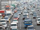 Massive traffic jams in Dubai due to accidents