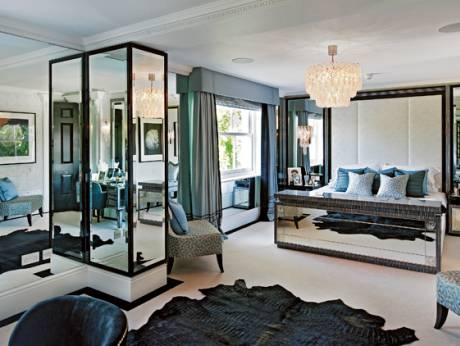 Covetable finishes and furniture in a luxurious UK residence
