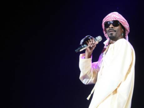 Snoop Dogg in Abu Dhabi