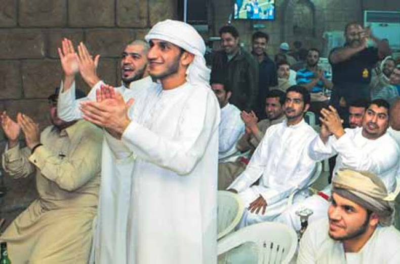 supporters-of-the-uae-football-team-celebrate-at-khan-al-khalili-cafe-in-ajman