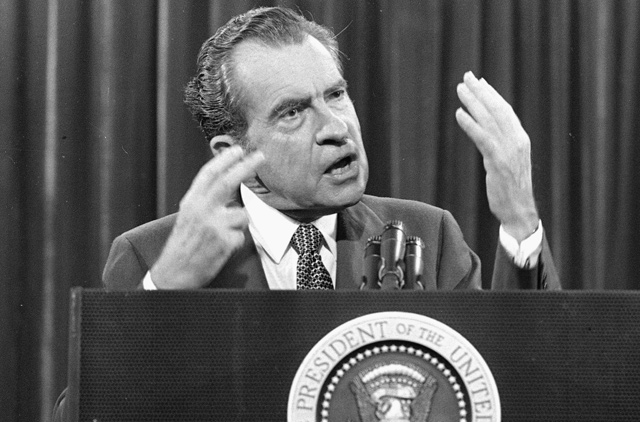 richard nixons pardon rhetorical analysis Entry point for information about the resignation of president richard nixon in august 1974.