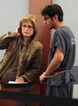 Mazen Al Otaibi appears in Las Vegas Justice Court