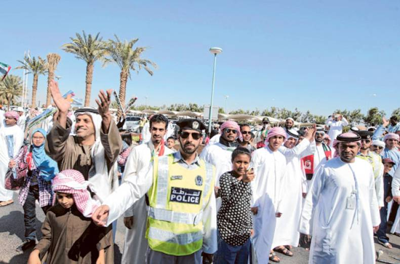 elated-football-fans-applaud-the-uae-football-team-upon-their-arrival-at-the-airport