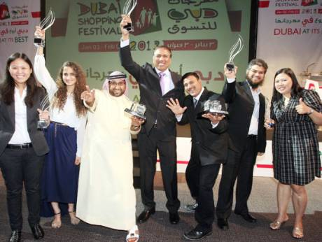 The award winning Gulf News team