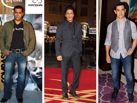 Salman, Shahrukh and Aamir