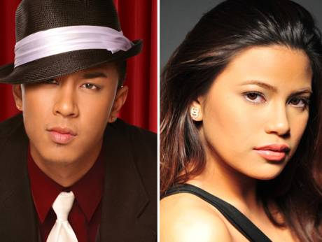 Kris Lawrence and Denise Laurel.