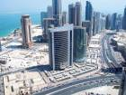 A view of the Qatari capital Doha