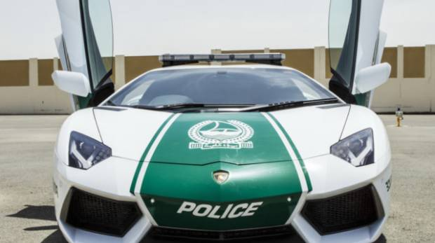 The Complete List Of Dubai Policeu0027s Luxury Cars