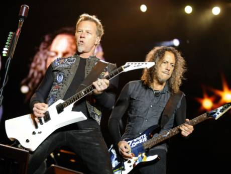Metallica perform in Austria