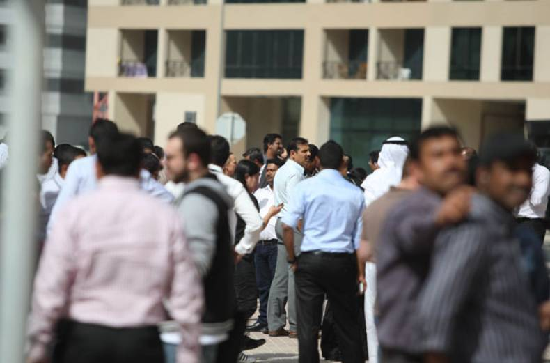 employees-from-the-buildings-in-tecom-area-were-evacuated-soon-after-the-tremors-were-felt