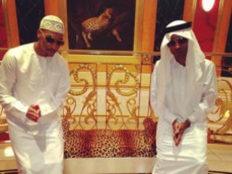 Pop sensation Justin Bieber in Dubai
