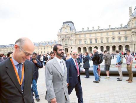 UAE officials in Paris