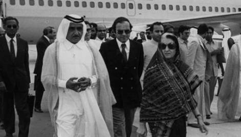 Famous figures visiting the UAE