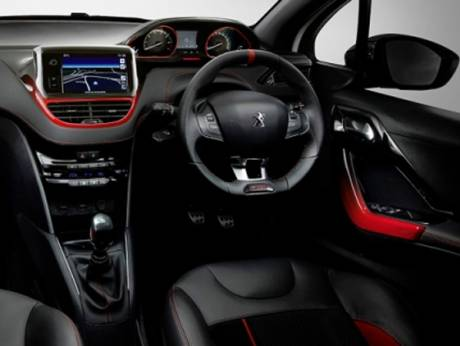 The Peugeot 208 GTi