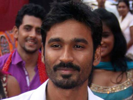 Indian singer Dhanush