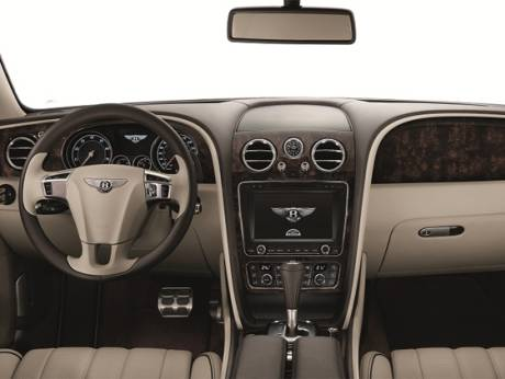 The new Bentley Flying Spur