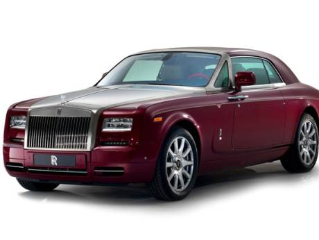 The Rolls Royce Phantom Coupe Ruby Edition