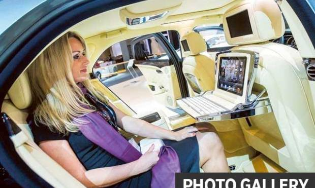 Dubai Motor Show goes into overdrive