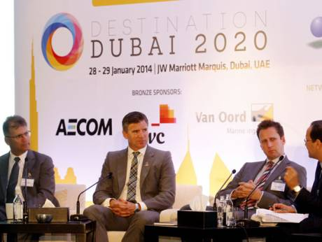 Uae s real non oil gdp to double by 2020 for Ec harris dubai