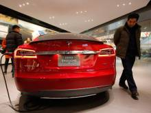 Is Tesla building a factory in China?