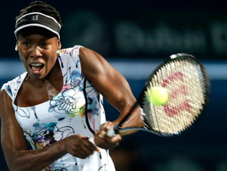 Venus Williams of the US